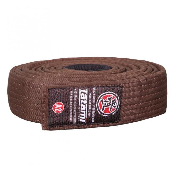 BJJ Belt Tatami bruin