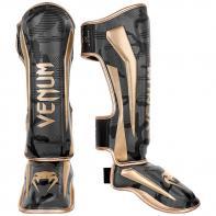 Scheenbeschermers Venum Elite Dark Camo / Gold