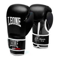 Bokshandschoenen Leone Flash zwart/zwart
