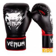 Bokshandschoenen Venum Contender kind zwart / rood