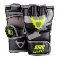 MMA Handschoenen Ringhorns Charger  Black Neo Yellow By Venum