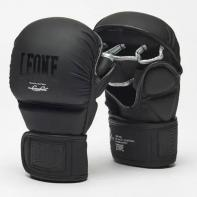 MMAHandschoenen Leone Black Edition Sparring