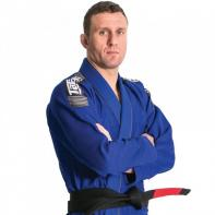 BJJ Gi Tatami Nova + Plus  blauw + wit belt