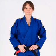 BJJ Gi Tatami Nova Absolute Ladies  blauw + wit belt