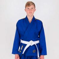 BJJ Gi Tatami Nova Absolute blauw+ wit belt Kids
