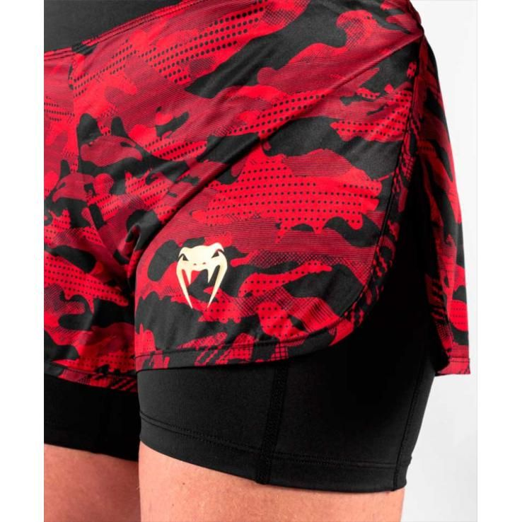 Venum Defender Hybrid Defender 2.0 Compression Short black / red