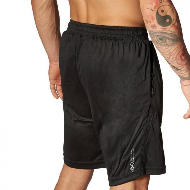 Fitness Shorts Leone Logo black