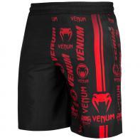 Fitness Shorts Venum Logos zwart / rood