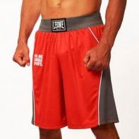 Short boxing Leone Corner red