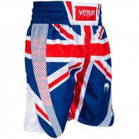 Short Boxing Venum Elite UK Blue / Red-White