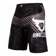 MMA Shorts Ringhorns Charger Black
