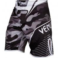MMA Shorts Venum Camo Hero Wit / zwart
