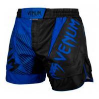 MMA Shorts Venum NOGI 2.0 zwart / blauw