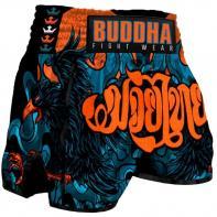 Muay Thai Short Buddha Retro Eagle