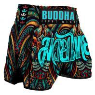 Muay Thai Short Buddha Retro Empire