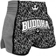Muay Thai Shorts Buddha Retro Galactic