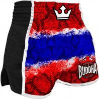 Muay Thai Shorts Buddha Retro Snake Thailand