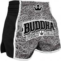 Muay Thai Shorts Buddha Retro Tattoo