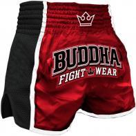 Muay Thai Shorts Buddha Retro X Rood Kids