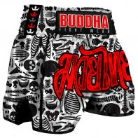 Muay Thai Shorts Buddha Skeletor Kids