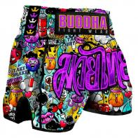 Muay Thai Shorts Buddha Zippy