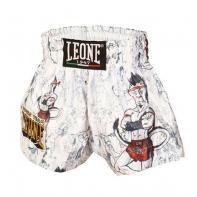 Muay Thai Shorts Leone Ramón Jr Kids wit