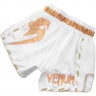 Muay Thai Shorts Venum Giant white/gold