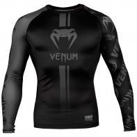 Rashguard Venum Logos l/s zwart / zwart