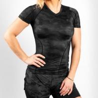 Rashguard Venum Defender black / black Ladies