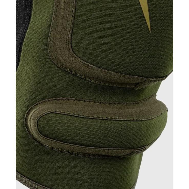 Venum Kontact Evo knee support khaki / gold