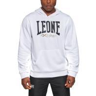 Hoody Leone Logo white